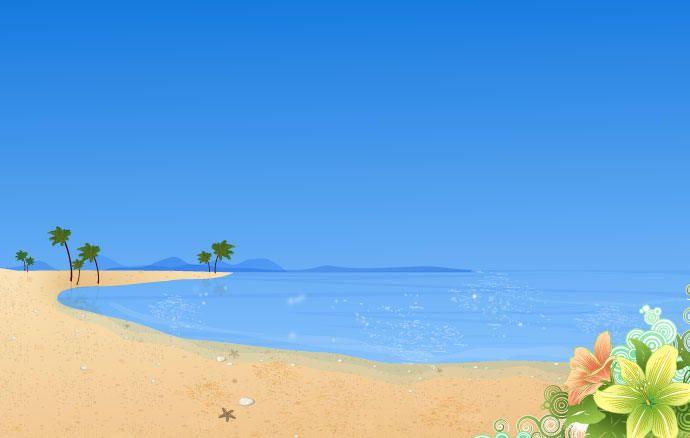 Summer Beach Wallpaper