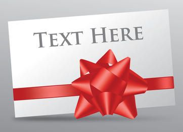 Gift Card Ribbon