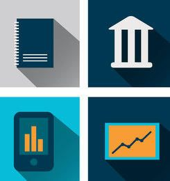 Minimalist Business Icons