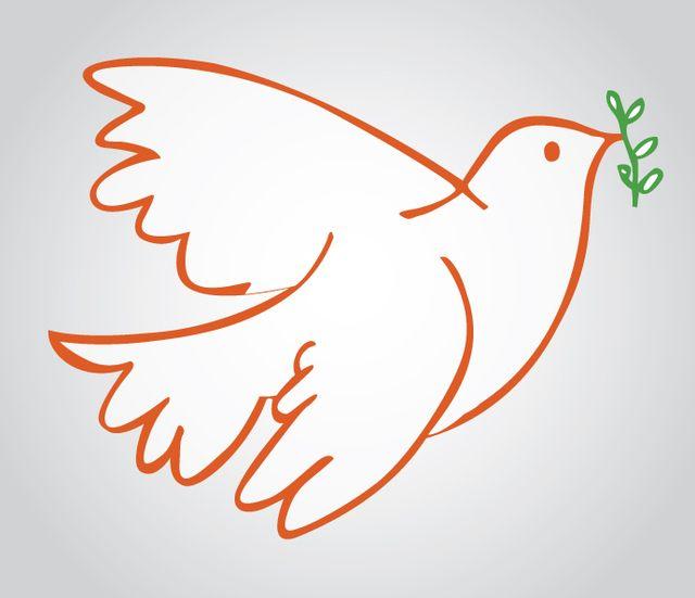 Paloma símbolo de la paz