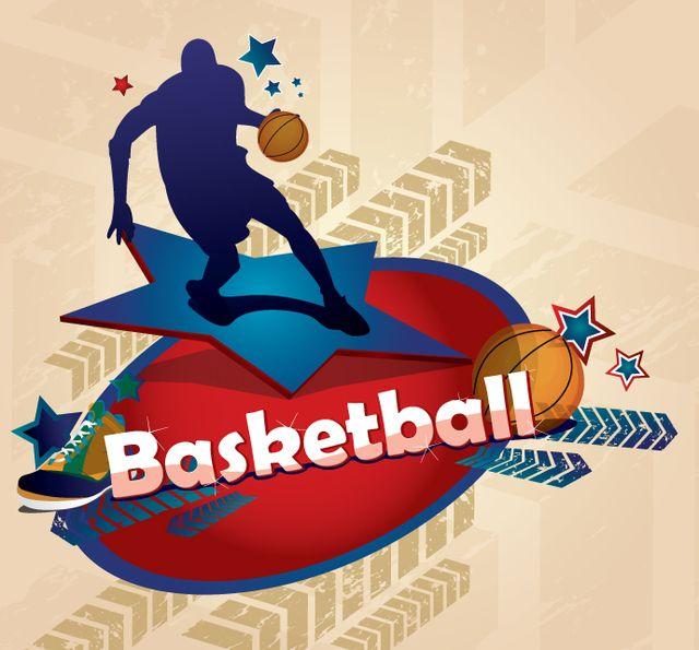 Pôster de basquete
