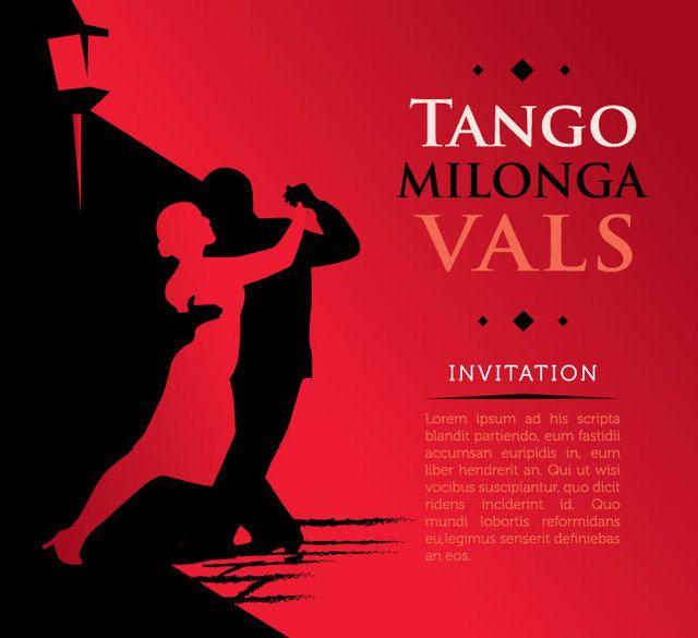 Póster Tango