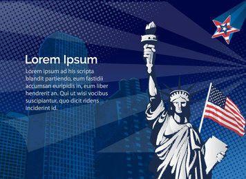Estatua de la libertad de estados unidos