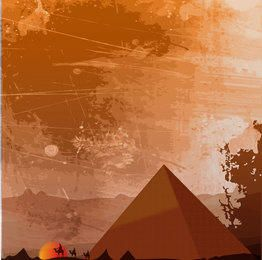 Ägyptischer Erbe-Hintergrund