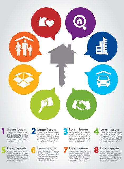 House Key Infographic