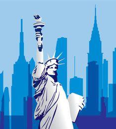 EE.UU. Monumento Paisaje urbano