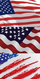 USA-Flaggenentwürfe
