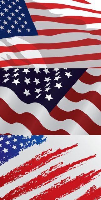 USA Flag Designs