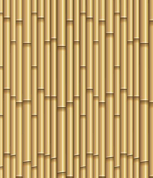 Patrón de bambú sin costura