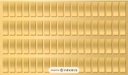 Textura de las barras de oro