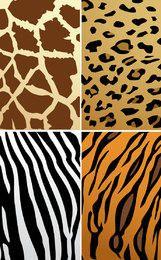 Tierhaut-Texturen