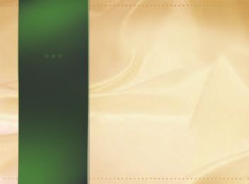 Green Ribbon Silky Background PSD
