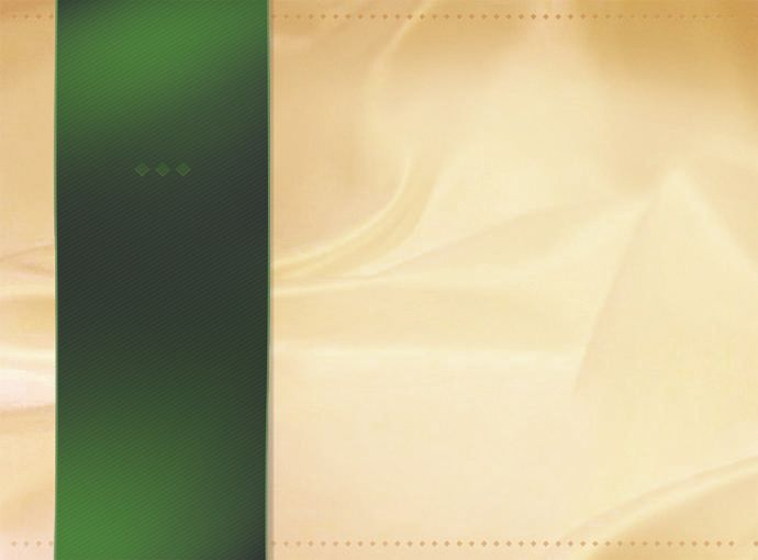 Green Ribbon Silky Background PSD