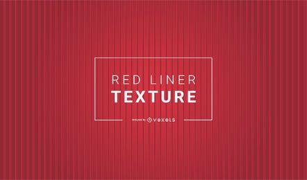 Liner Rojo Textura AI