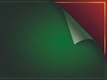 Gedrehtes grünes Hintergrund-PSD