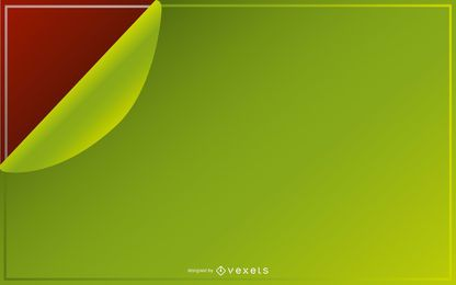 Flipped Green Background PSD
