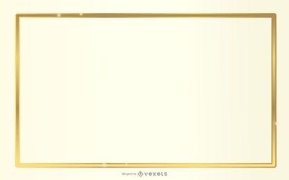 Fundo Branco Dourado PSD