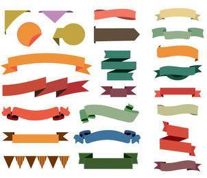24 bunte Bänder