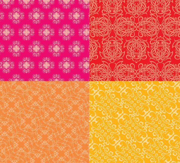Ornate Floral Patterns