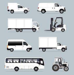 Blanco Vehículos Industriales