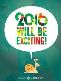 2016 será emocionante