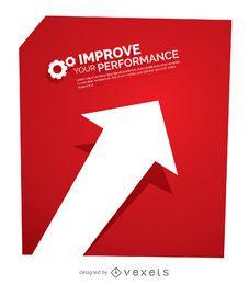 Concepto de mejora de rendimiento