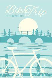 Cartel de la bici