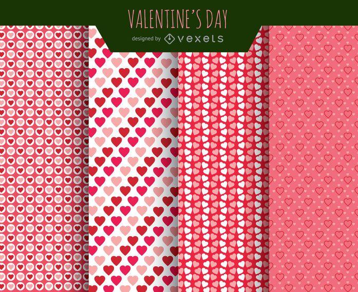 Patrones de amor de san valentin