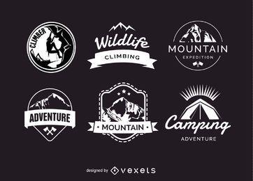 Camping Abzeichen