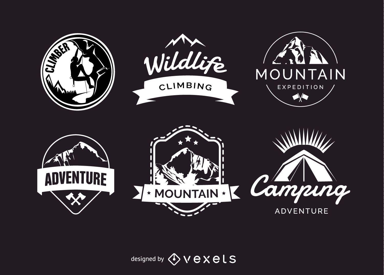 Camping badges