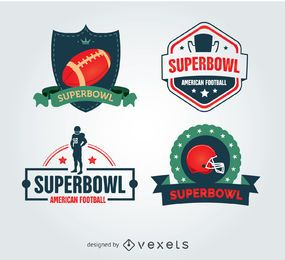 Insignias frescas de Superbowl