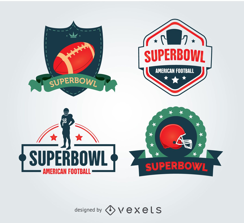 Superbowl cool badges