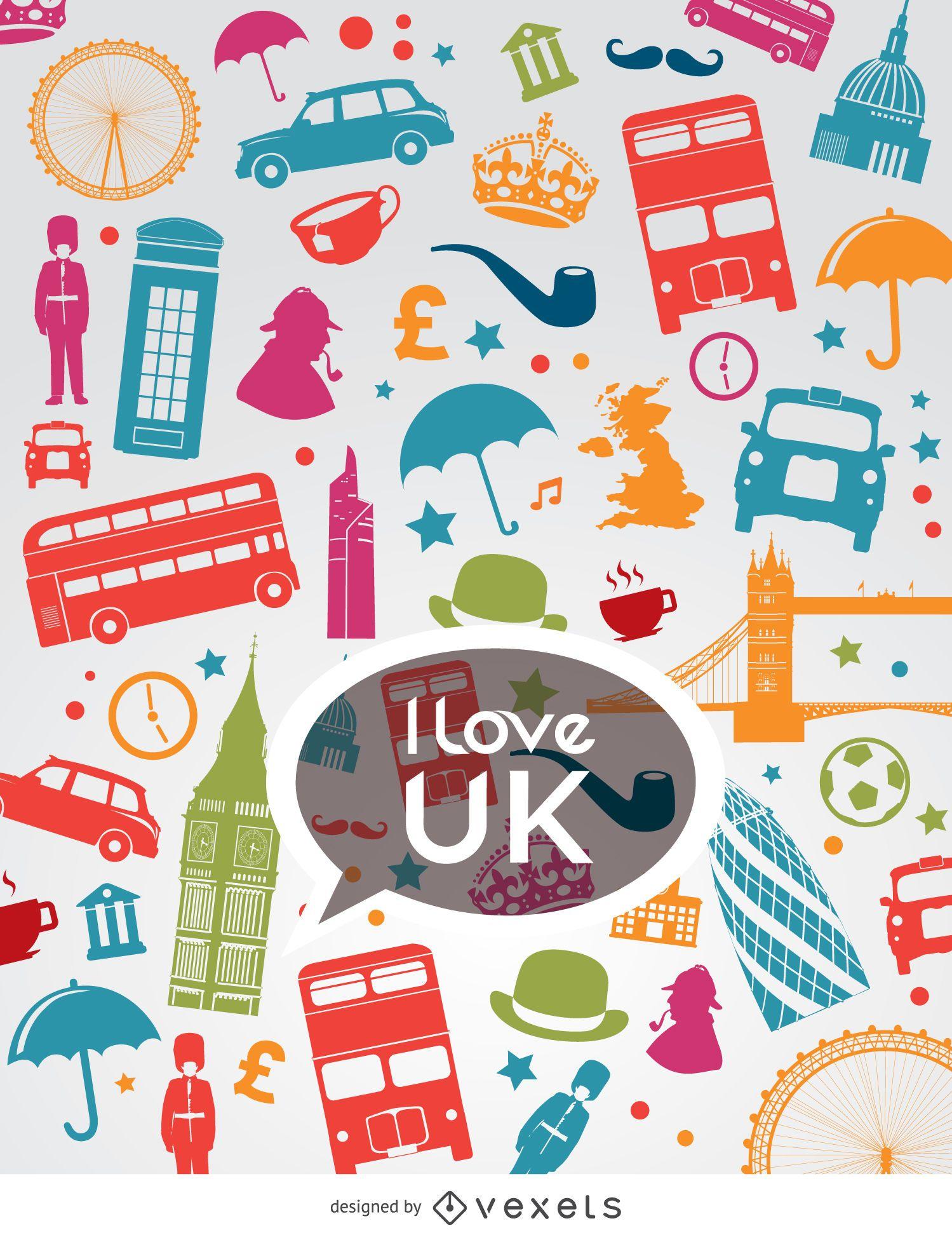 Ich liebe britische Komposition