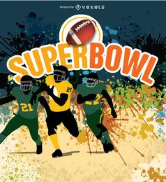 Super Bow American Football players