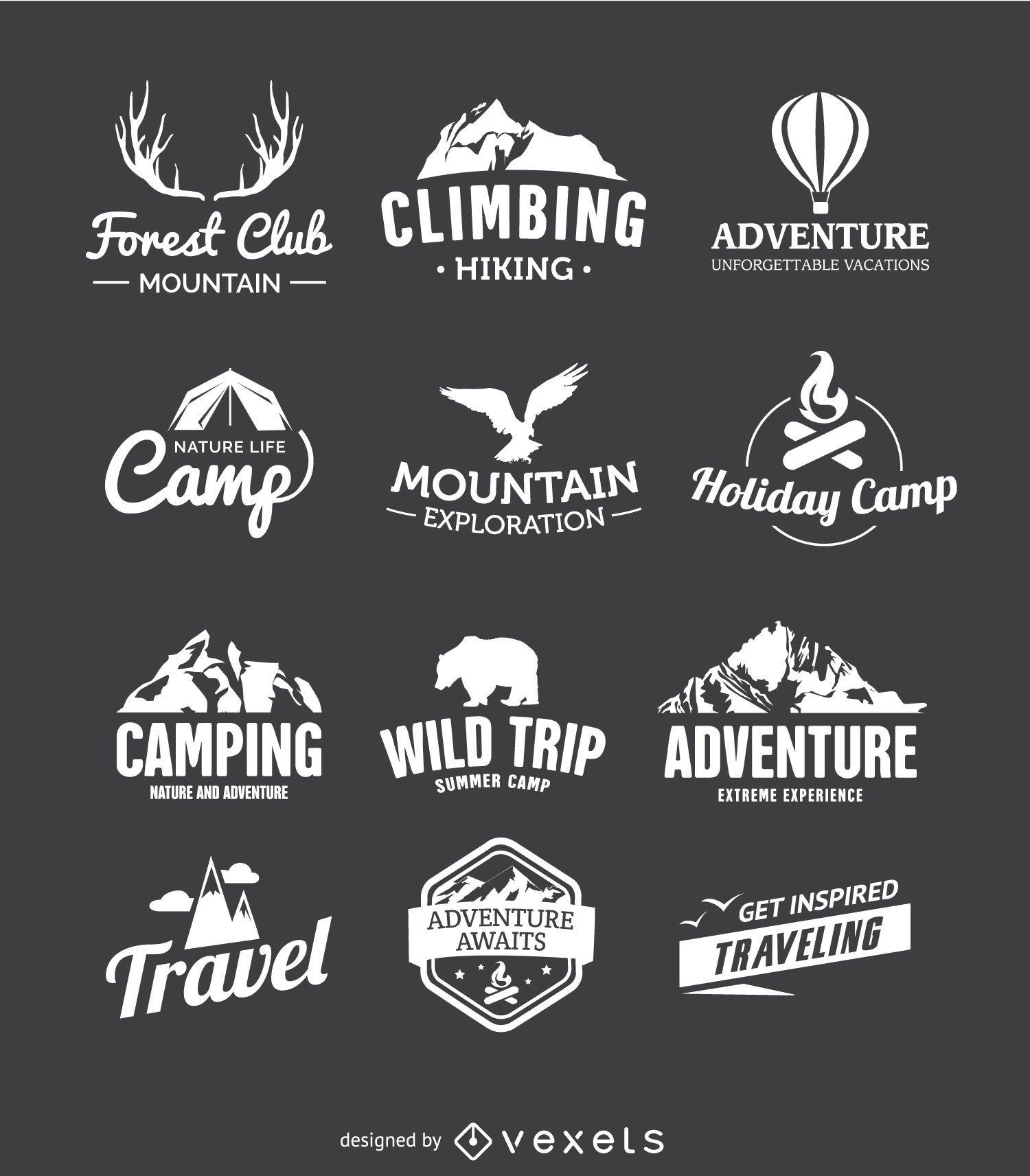 12 traveling emblems