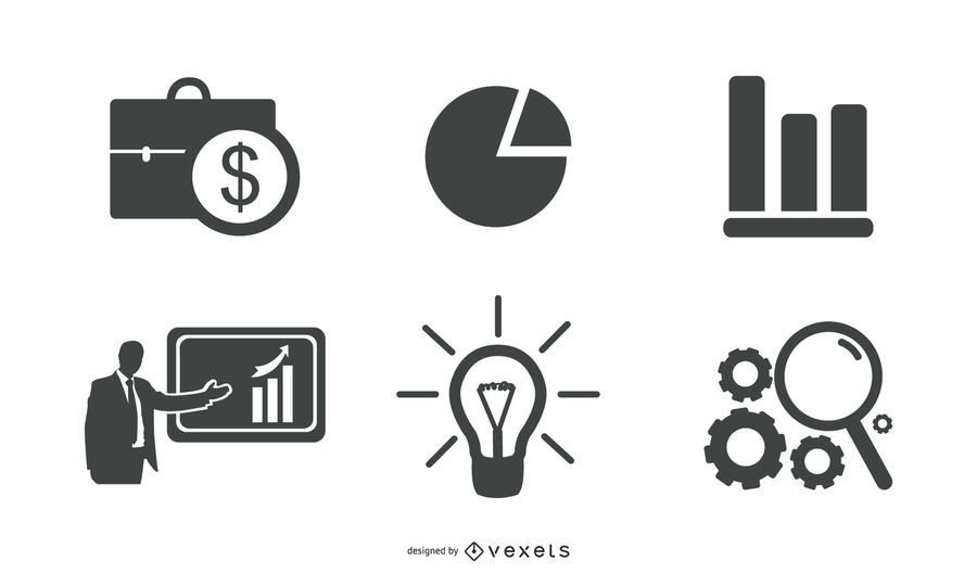 Negocio creativo y elementos web