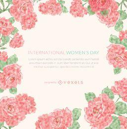 Moldura do Dia da Mulher