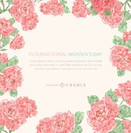 Women's Day frame
