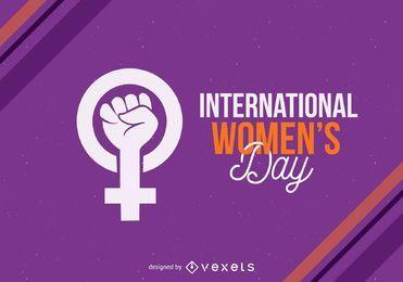 Internationaler Frauentag Zeichen