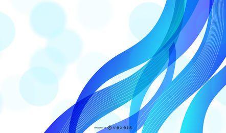 Vector de fondo ondulado abstracto