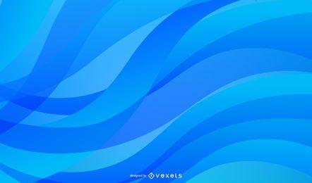 Elegante Linien kurven abstrakten Hintergrund