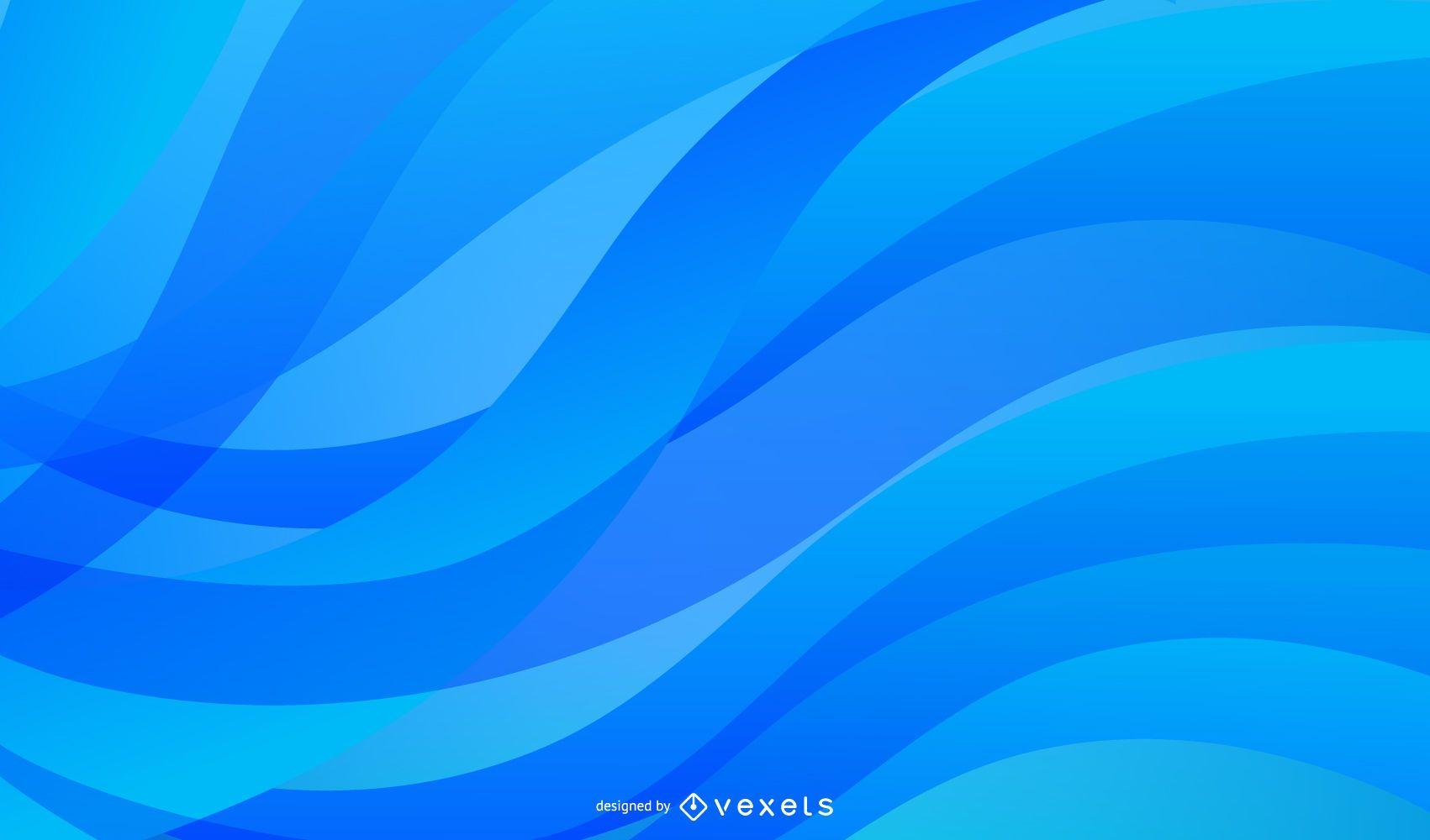 Fondo abstracto elegante líneas curvas