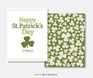 St. Patrick's Day-Grußkarte