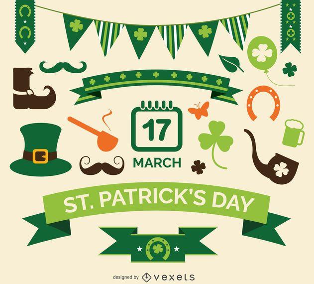 Conjunto de elementos de St. Patrick