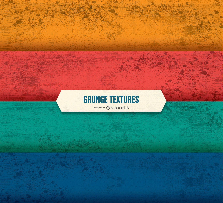 Conjunto de textura grunge