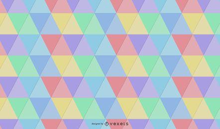 Padrão de triângulo sem costura rótulo Hipster