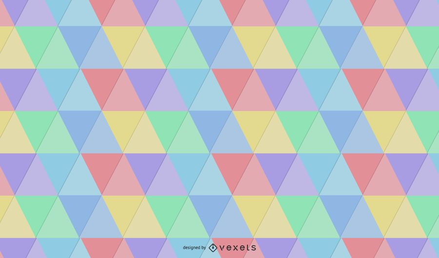 Hipster Label Seamless Triangle Pattern