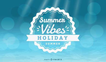 Sommer Vibes Urlaub