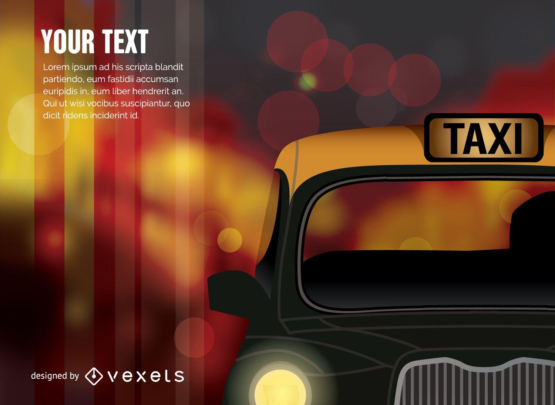 Taxi coche taxi