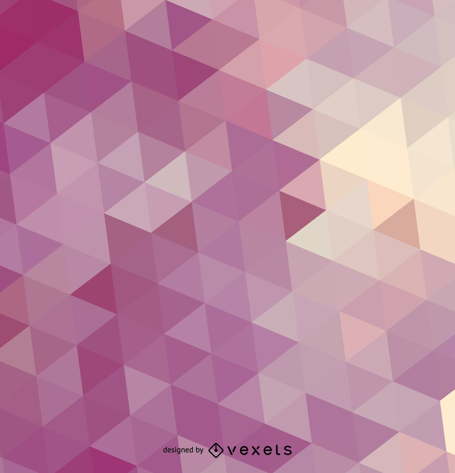 Purple triangle background - Vector download